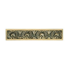 King's Road 4 Inch Center to Center Satin 24K Gold Cabinet Pull <small>(#NHP-608-SG)</small>