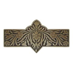 English Garden 3 Inch Center to Center Antique Brass Cabinet Pull <small>(#NHP-678-AB)</small>