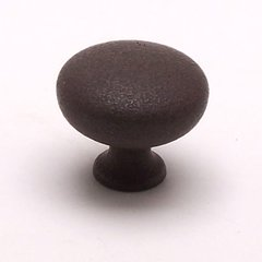 American Mission 1-1/4 Inch Diameter Dull Rust Cabinet Knob