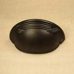 Georgian 3 Inch Center to Center Oil Rubbed Bronze Cabinet Cup Pull