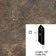 Wilsonart Bevel Edge - Girona Cavern - 12 Ft <small>(#CE-FE-144-4897K-01)</small>