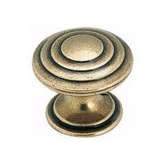 """True Elegance Knob 1-9/16"""" Dia. Burnished Brass <small>(#BP1354O77)</small>"""