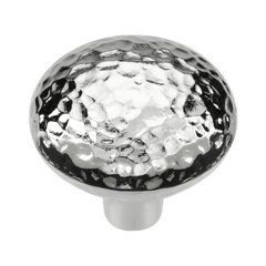 Mountain Lodge 1-3/8 Inch Diameter Chrome Cabinet Knob <small>(#P3063-CH)</small>