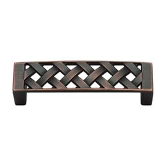 Lattice 3 Inch Center to Center Venetian Bronze Cabinet Pull