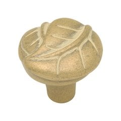 Touch of Spring 1-1/4 Inch Diameter Blonde Antique Cabinet Knob