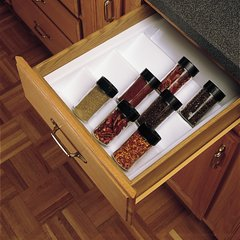 "Spice Drawer Insert White - 16""W x 21.25""D"