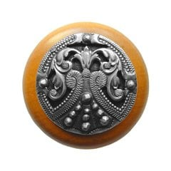Olde Worlde 1-1/2 Inch Diameter Antique Pewter Cabinet Knob <small>(#NHW-701M-AP)</small>