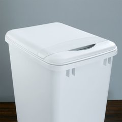 Flip Up Lid For 35 Quart Container - White