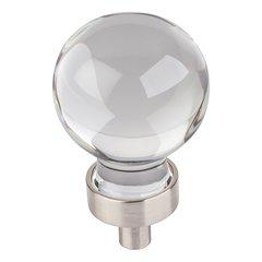 Harlow Cabinet Knob 1-1/16 inch Diameter - Satin Nickel <small>(#G130SN)</small>