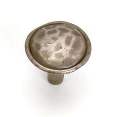 Merlot 1-3/8 Inch Diameter Antique Pewter Cabinet Knob