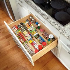"Wood Spice Drawer Insert-22""W x 19.75""L"