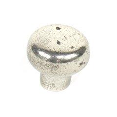 Whistler 1-3/8 Inch Diameter White Bronze Cabinet Knob