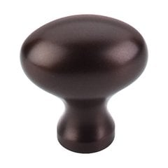Oil Rubbed Bronze 1-1/4 Inch Length Oil Rubbed Bronze Cabinet Knob <small>(#M750)</small>