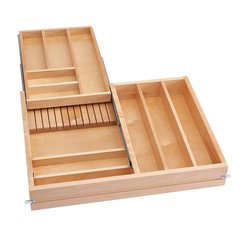 "4WTCD Double Combination Drawer 30"" W No Slides"