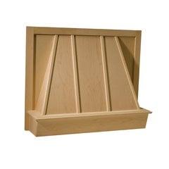 36 inch Wide Omega Series Canopy Range Hood-Hickory
