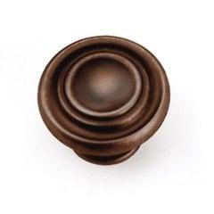 Windsor 1-3/8 Inch Diameter Venetian Bronze Cabinet Knob