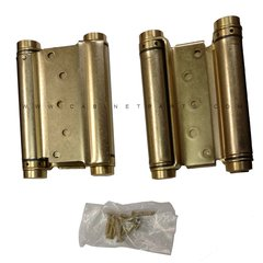 3029-5 5 inch Double Acting Mortise Spring Hinge - Satin Brass