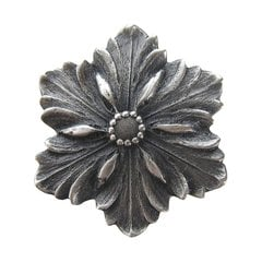 Classic 1-5/8 Inch Diameter Antique Pewter Cabinet Knob