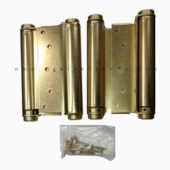 "3029-7 7"" Double Acting Mortise Spring Hinge - Satin Brass <small>(#3029-7-633)</small>"