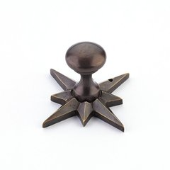 Sonata 11/16 Inch Diameter Dark Antique Bronze Cabinet Knob