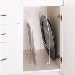 "Tray Divider 12""- White with clips"
