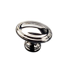 Contemporary Classics 1-3/8 Inch Diameter Chrome Cabinet Knob