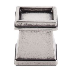 Great Wall 1-1/8 Inch Length Pewter Antique Cabinet Knob <small>(#TK186PTA)</small>
