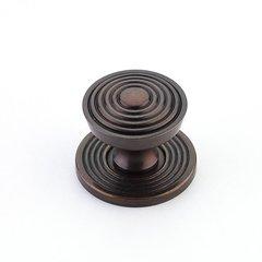 Sonata 1-1/8 Inch Diameter Dark Antique Bronze Cabinet Knob <small>(#967M-DAB)</small>