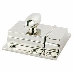 Berenson 7/8 Inch Center to Center Polished Nickel Latch Pulls