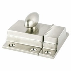 Berenson 7/8 Inch Center to Center Brushed NIckel Latch Pulls