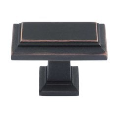 Sutton Place 1-1/2 Inch Diameter Venetian Bronze Cabinet Knob