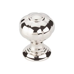 Devon Allington Knob 1 inch Diameter Polished Nickel <small>(#TK690PN)</small>