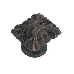 Ithica 1-5/16 Inch Length Vintage Bronze Cabinet Knob