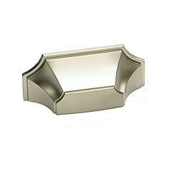 Empire Designs 3 Inch Center to Center Satin Nickel Cabinet Cup Pull <small>(#878-15)</small>