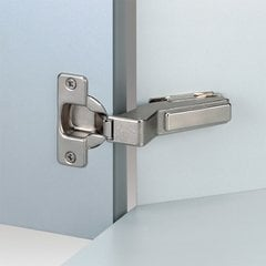 Nexis Screw On +45° Corner Angle Hinge - Self Close