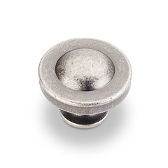 Cordova 1-1/4 Inch Diameter Bright Nickel Brushed with Dull Lacquer Cabinet Knob