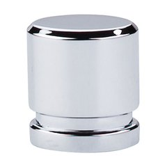 Sanctuary 1 Inch Length Polished Chrome Cabinet Knob <small>(#TK57PC)</small>