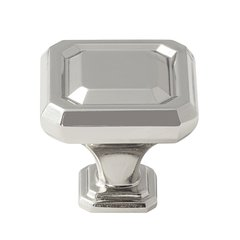 Wells 1-1/4 Inch Diameter Polished Nickel Cabinet Knob <small>(#BP36546PN)</small>