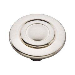Cavalier 1-1/8 Inch Diameter Satin Nickel Cabinet Knob <small>(#P120-SN)</small>