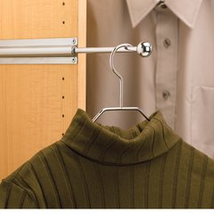 Rev-A-Shelf Standard Valet Rod - Chrome CVL-12-CR