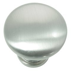 "Danica Hollow Knob 1-3/8"" Dia Brushed Satin Nickel"