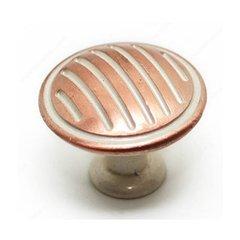 Art Deco 1-3/16 Inch Diameter Inca Cabinet Knob