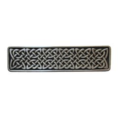 Jewel 3 Inch Center to Center Antique Pewter Cabinet Pull <small>(#NHP-657-AP)</small>