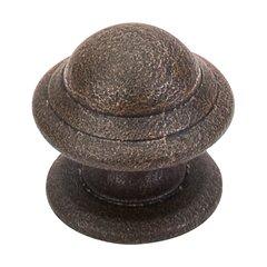 Britannia 1-1/4 Inch Diameter Rust Cabinet Knob <small>(#M12)</small>