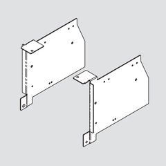 Aventos HK Frame Mounting Bracket Set