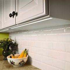"Hafele Loox 24V LED 3015 Strip Light Kit 6"" Warm White 833.76.050"