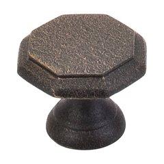 Britannia 1-1/4 Inch Diameter Rust Cabinet Knob <small>(#M8)</small>