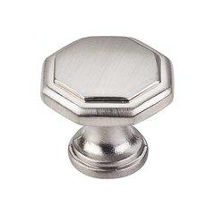 Drake 1-3/16 Inch Diameter Satin Nickel Cabinet Knob <small>(#424SN)</small>