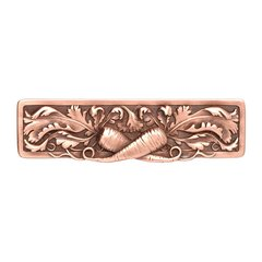 Kitchen Garden 3 Inch Center to Center Antique Pewter Cabinet Pull <small>(#NHP-652-AC)</small>