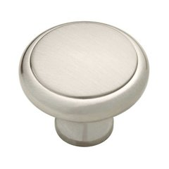 Athens 1-3/16 Inch Diameter Satin Nickel Cabinet Knob <small>(#PN0409-SN-C)</small>